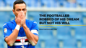 The Footballer Robbed Of His Dream But Not His Will