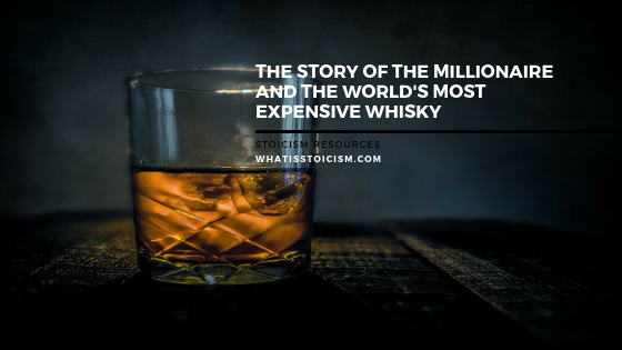 The Story Of The Millionaire And The World's Most Expensive Dram Of Whisky