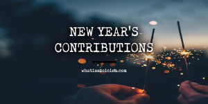 New Year's Contributions