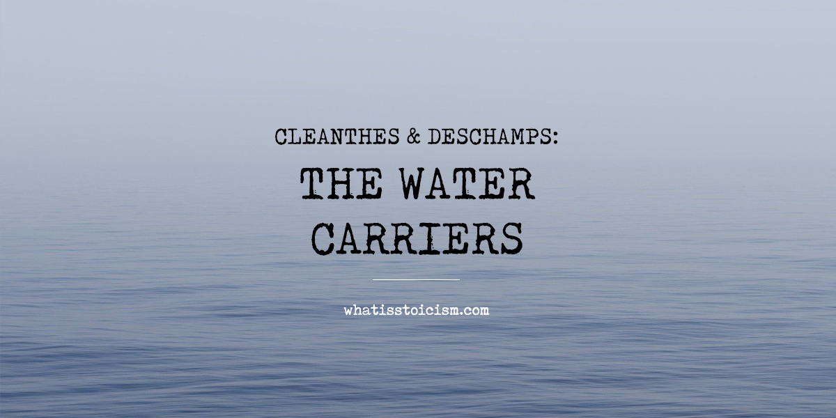 Cleanthes & Deschamps: The Water Carriers