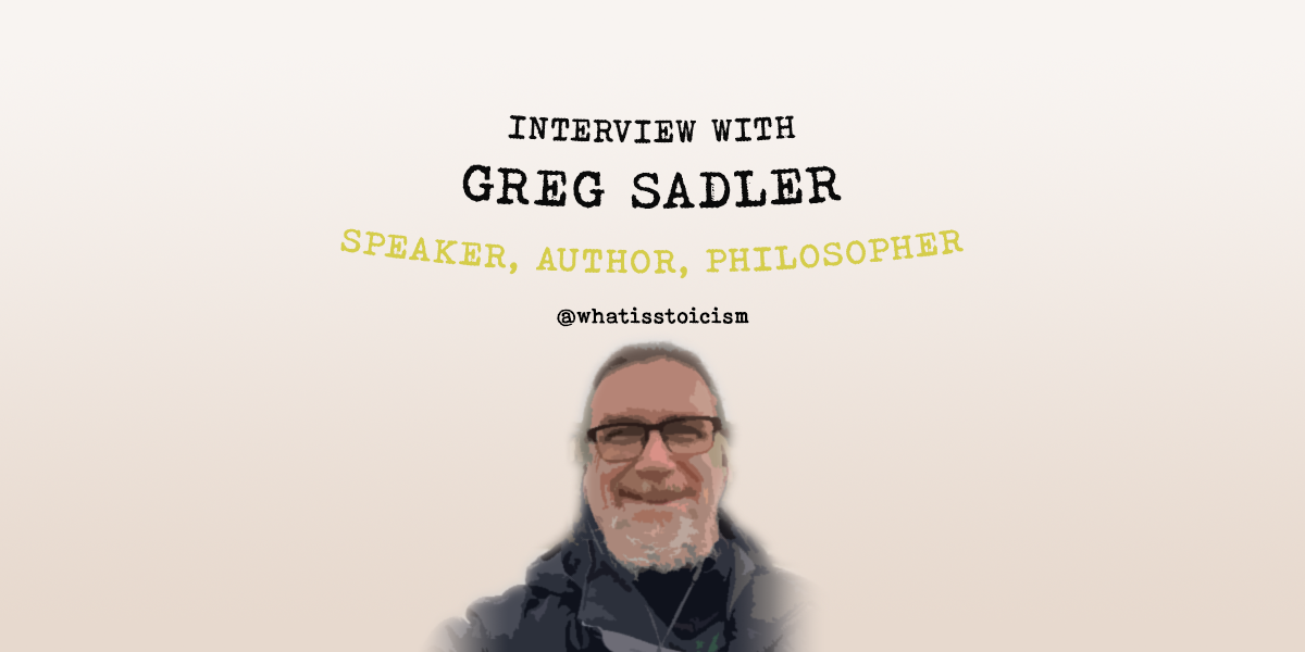 Interview With Greg Sadler – Speaker, Author, Philosopher