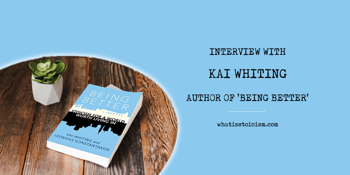 Interview With Kai Whiting – Author Of Being Better